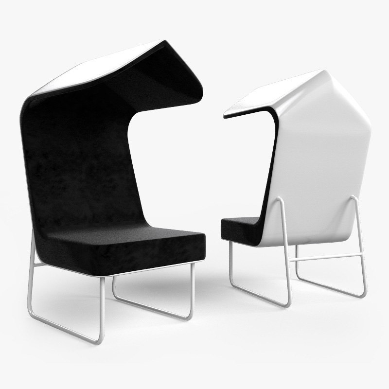 awning chair obj free