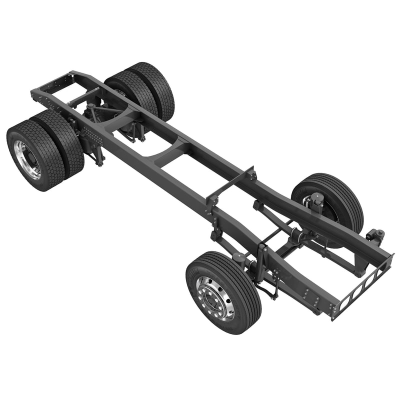 max truck frame suspension