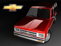 Chevrolet S-10 Blazer 5d FL Mk1