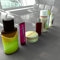 pharmaceutical bottles 3d ma