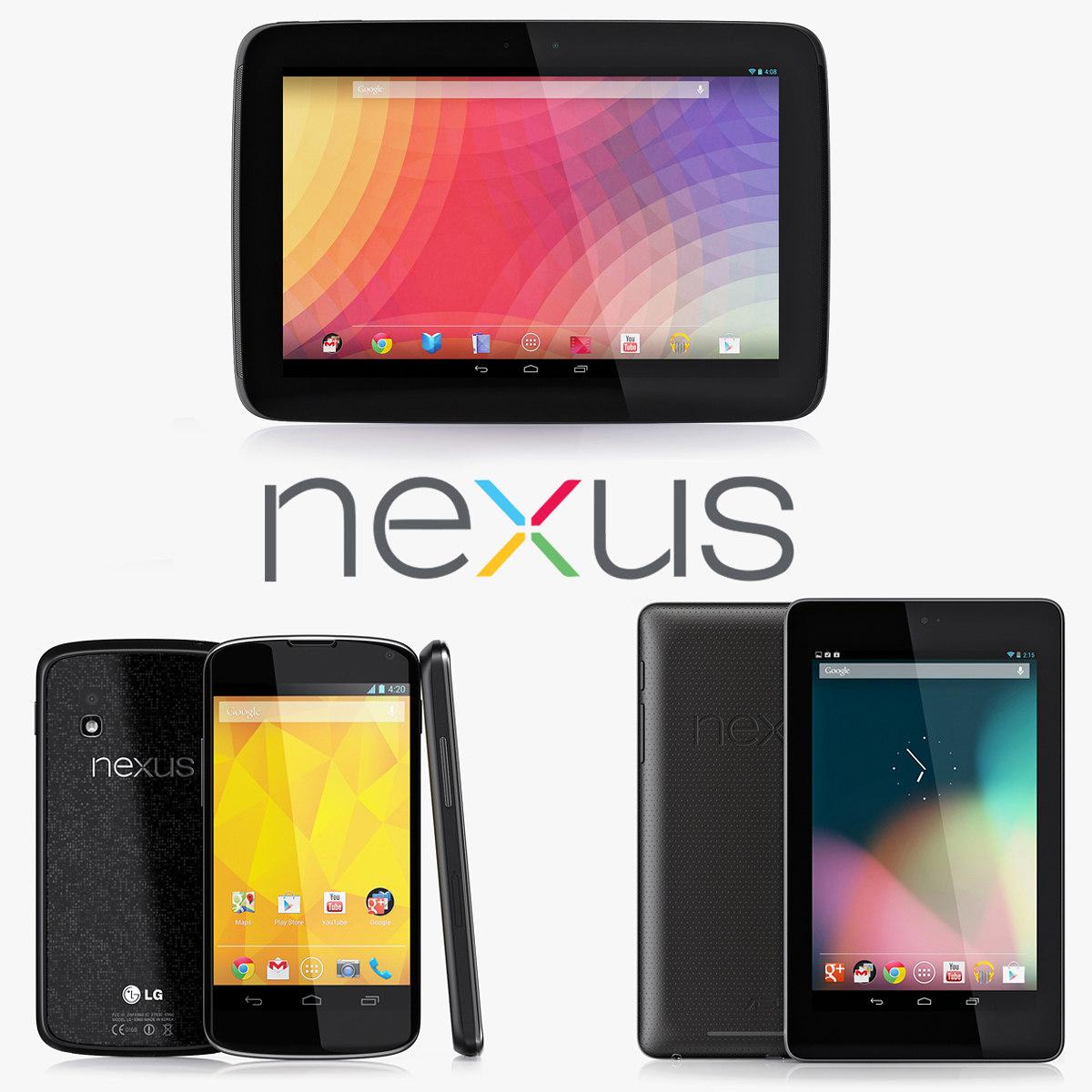 3d google nexus