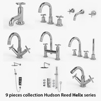 9 Bathroom Faucets collection Hudson Reed Helix Series