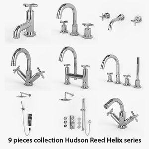 9 hudson reed helix 3d 3ds