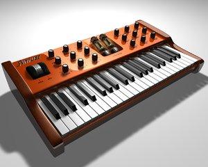 synthesizer vacuum tubes c4d