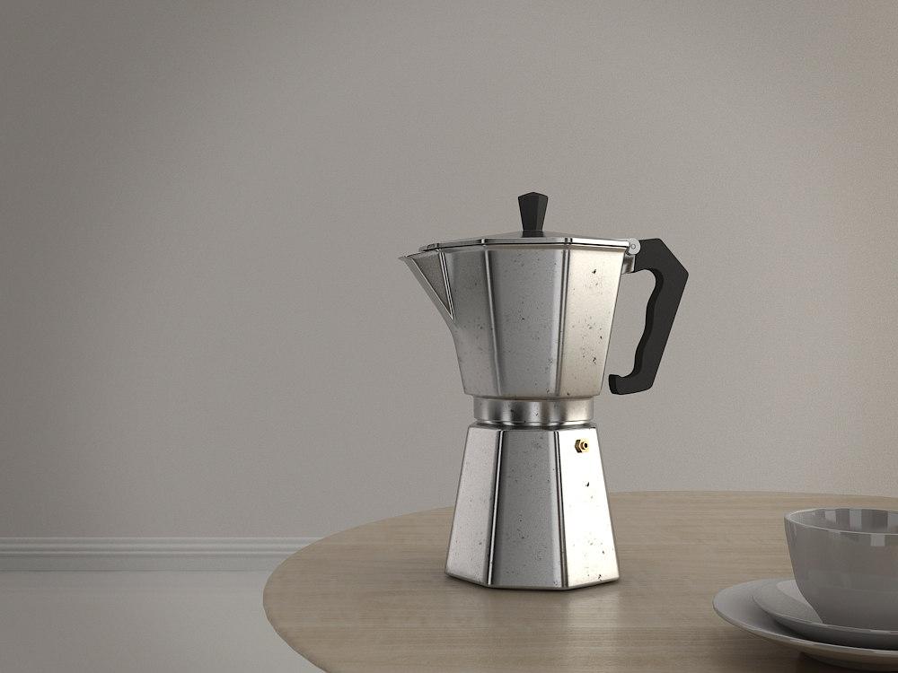 x moka coffee maker