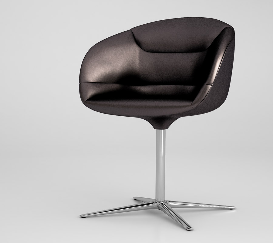 3d model walter knoll chair