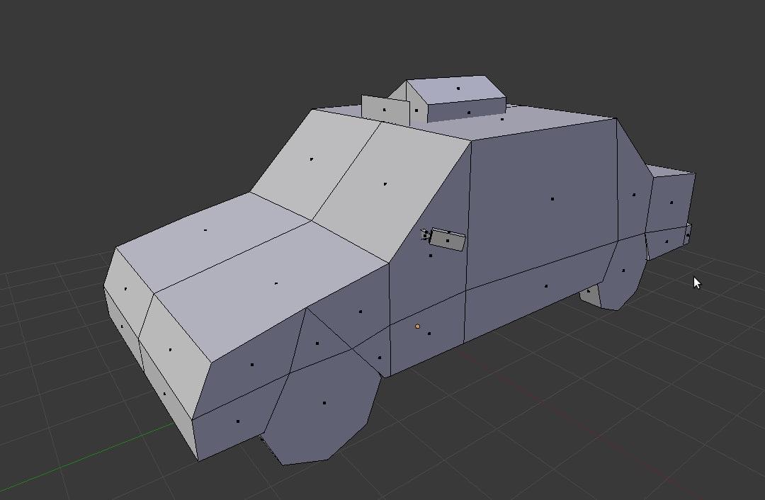 3d model car gaming