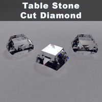 Table Stone Cut Diamond