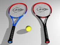 3dsmax tennis racket