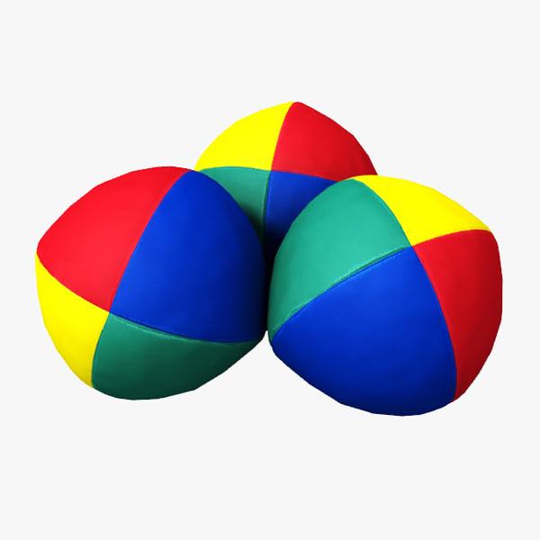 juggling ball 3d 3ds