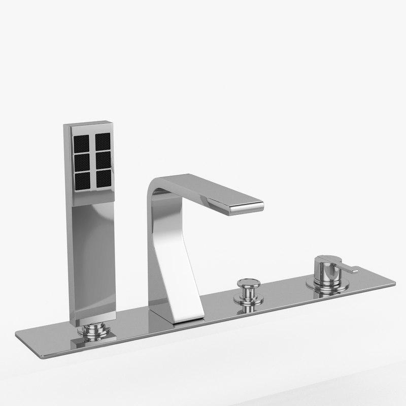 bathtub faucet rem zazzeri 3d 3ds