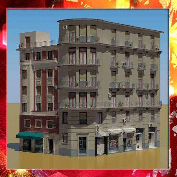 3d building 32