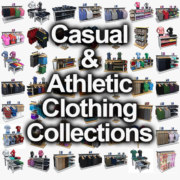 3d collections casual clothing