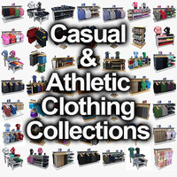 Athlectic Clothing and Casual Clothing Collections