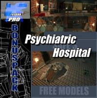psychiatric hospital adams 3d max