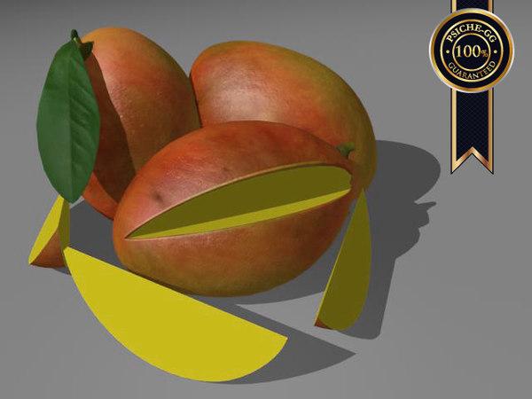 mangos 3d model