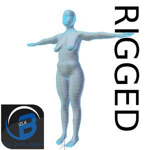 3dsmax rigged base mesh