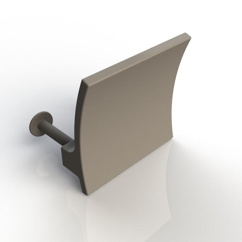 furniture handle 3d max