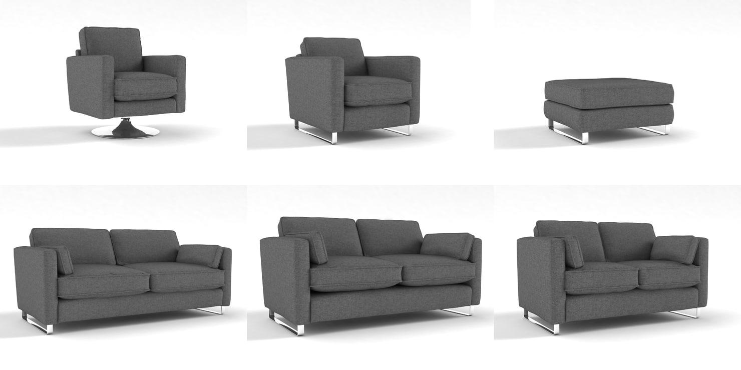 obj sofas set