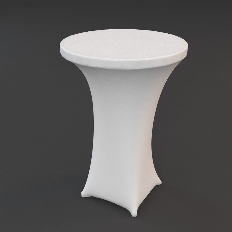 partytable party 3d model