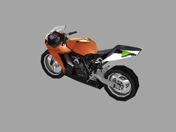 3d model sport bike
