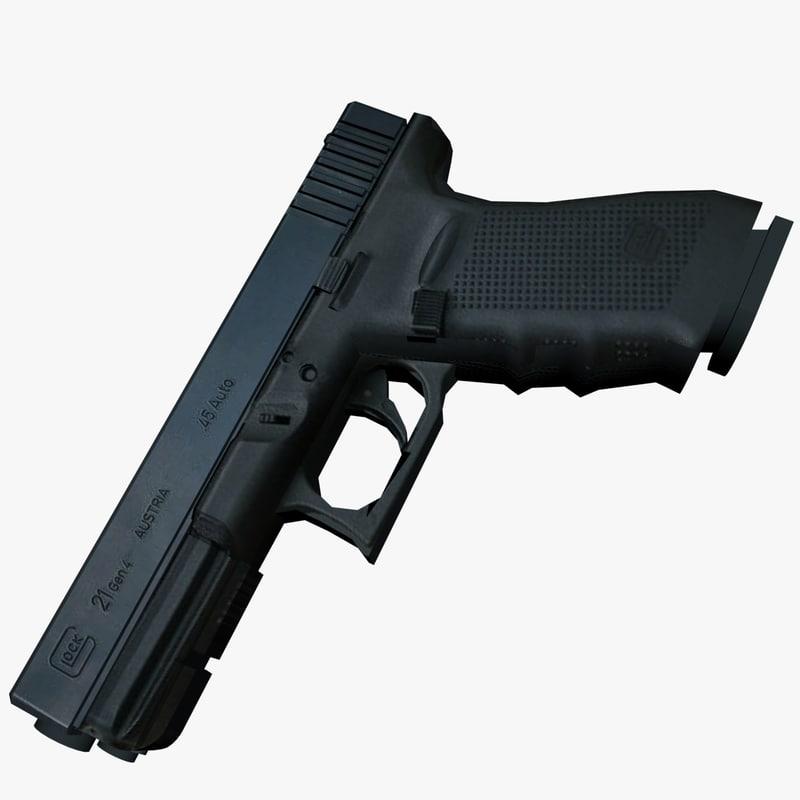 3d glock 21