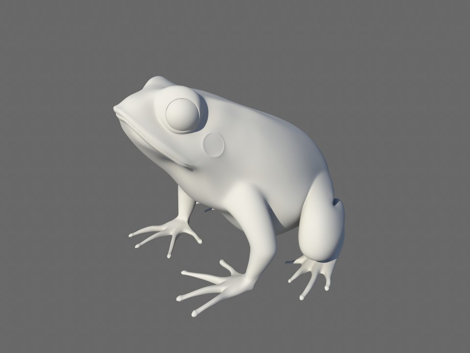 3d toad