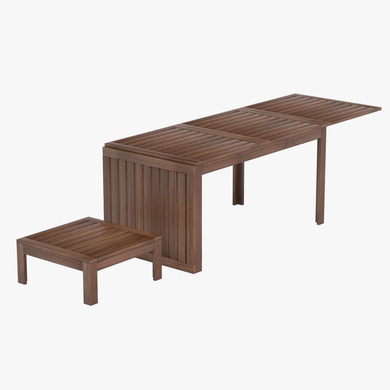 3d model table coffee ikea