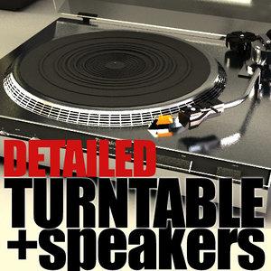 3ds technics sl220 turntable