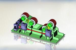 3d dwg welder rotator