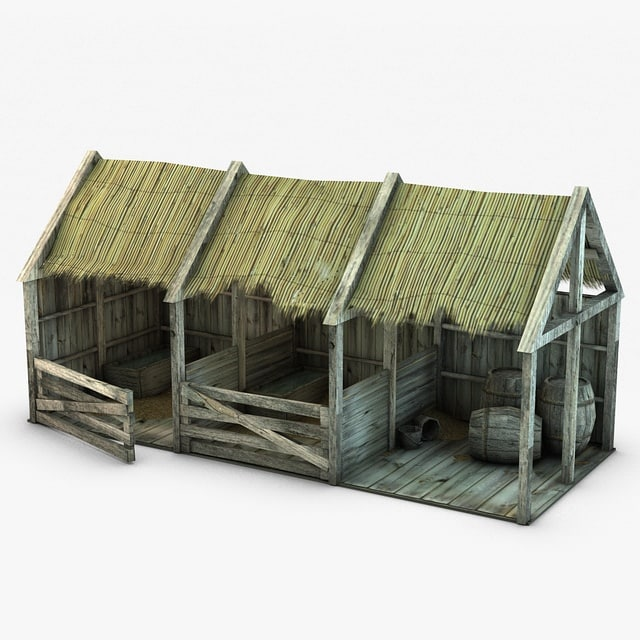 3d model stable