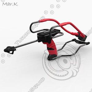 3d sling-shot sling shot model
