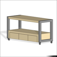 Table Cart 01440se