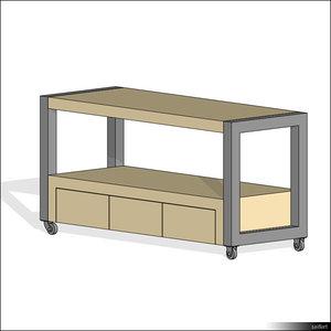 rfa table cart