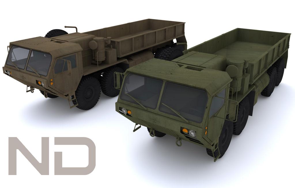 3d oshkosh hemmt m977 model