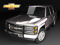 chevrolet tahoe 71 3d model