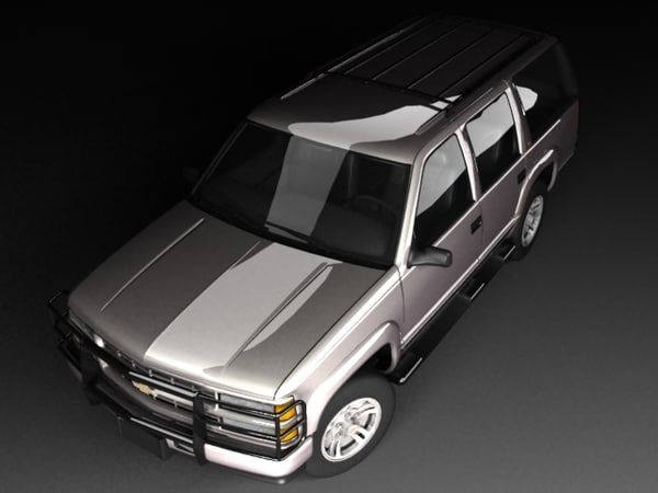 chevrolet tahoe 71 3d model