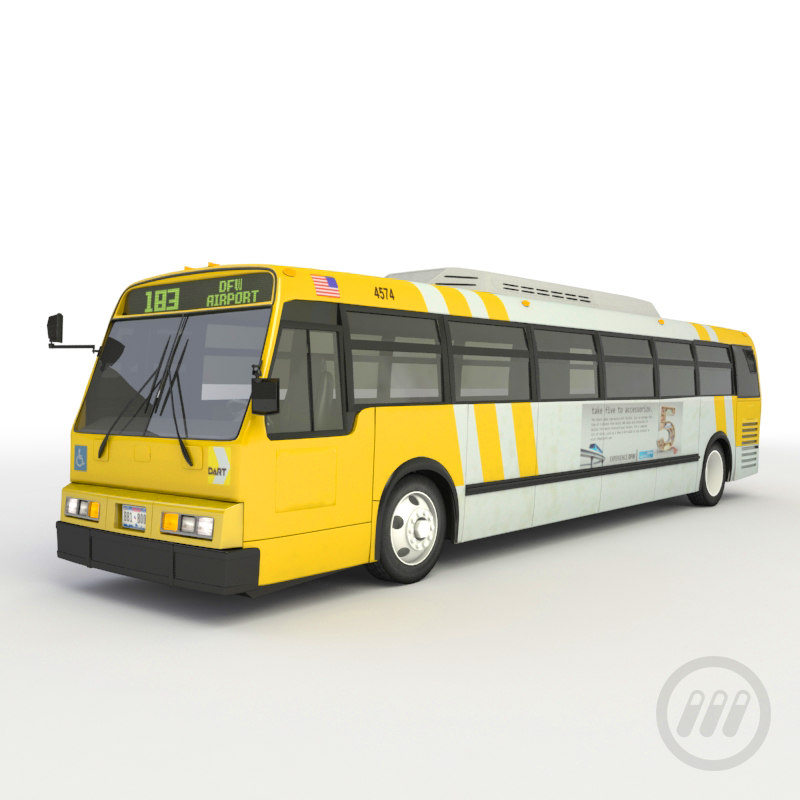 3ds max rapid bus
