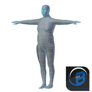 base mesh 3d obj