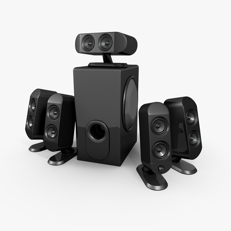 3d model pc speaker