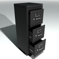 Single Metal Filing Cabinet