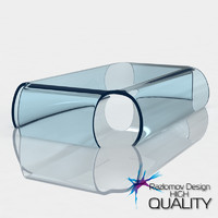 max modern glass table