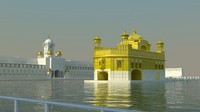 harmandir sahib 3d model