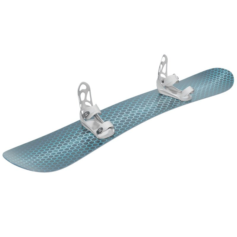 snowboard bindings 3d max