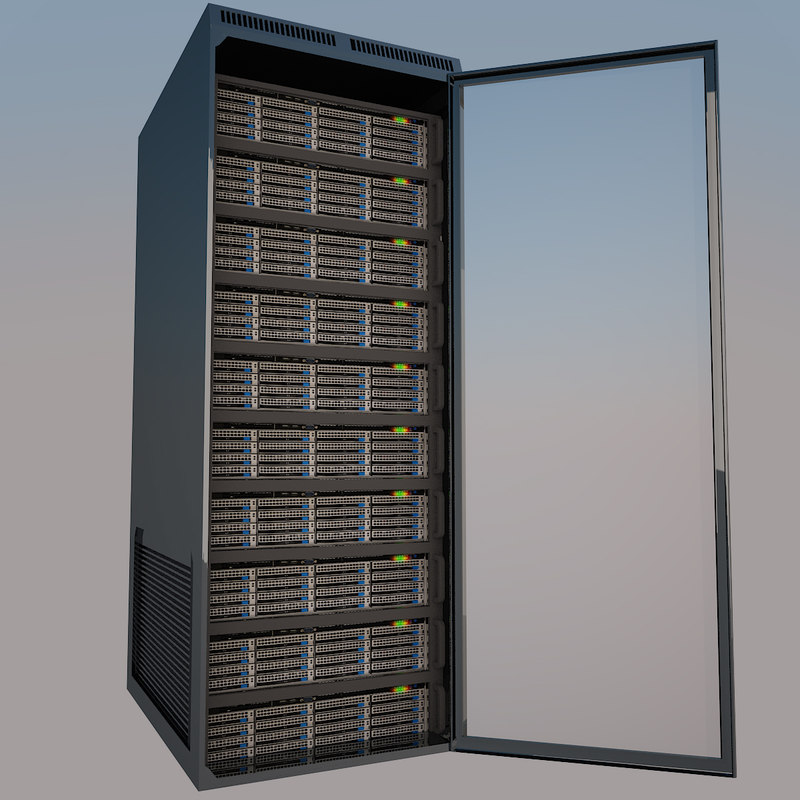 3d server rack