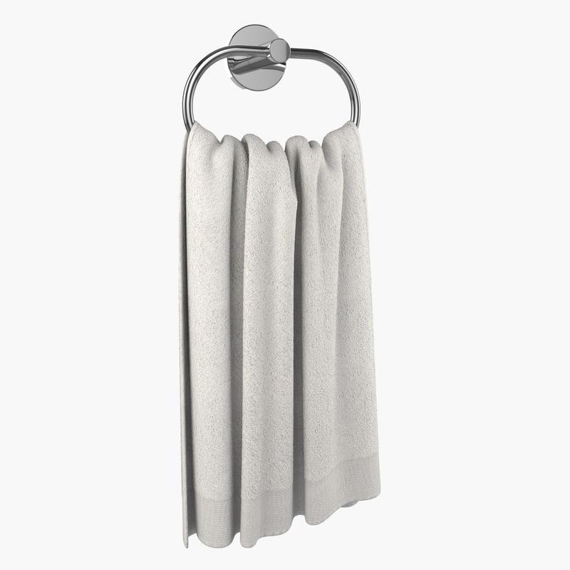 3ds bathroom towel