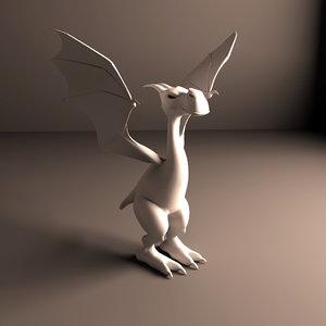 dragon obj