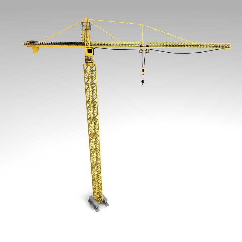 obj tower crane
