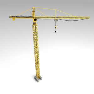 obj tower crane
