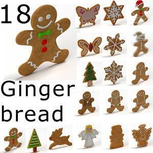 3d ginger ginger model